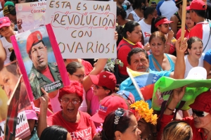 """""""Esta es una revolución con ovarios"""""""